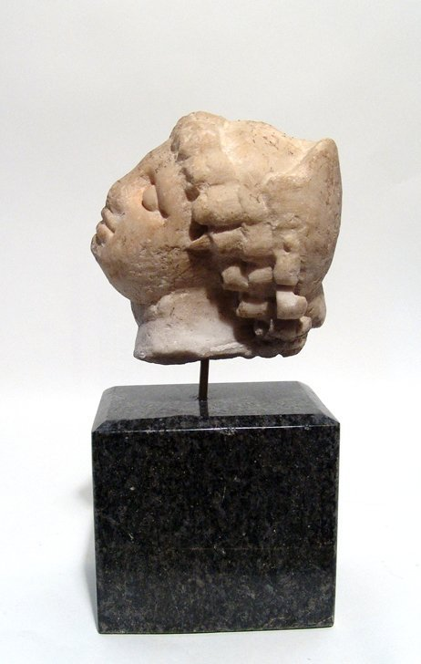 A beautiful Roman marble head of an enraptured Venus - 4