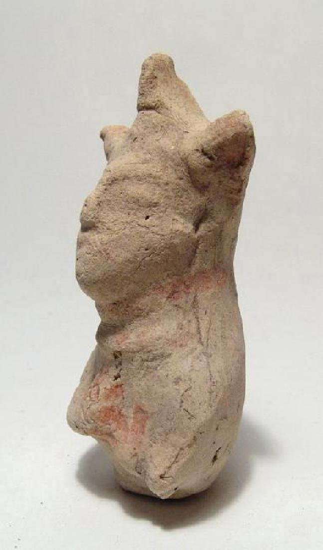 An Eastern Greek terracotta rattle figure of a woman - 2