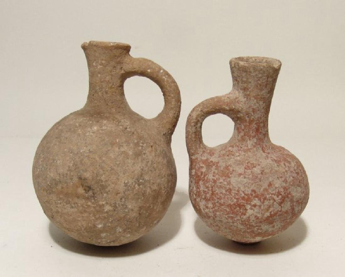 Lot of 2 Bronze Age Holy Land vessels - 2