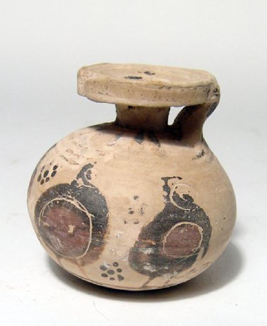 A Corinthian aryballos with stylized warriors - 2