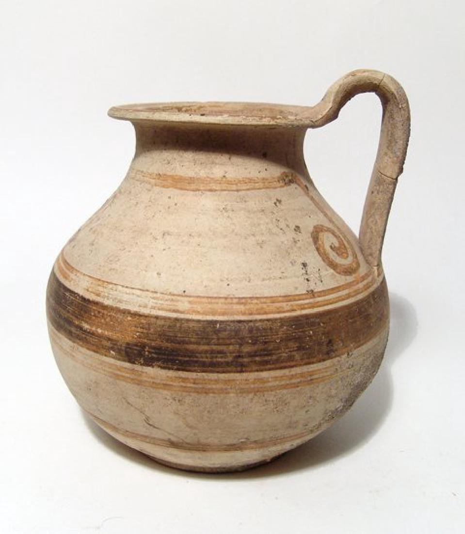 A nice Greek oinochoe, Magnia Graecia, c. 4th Century