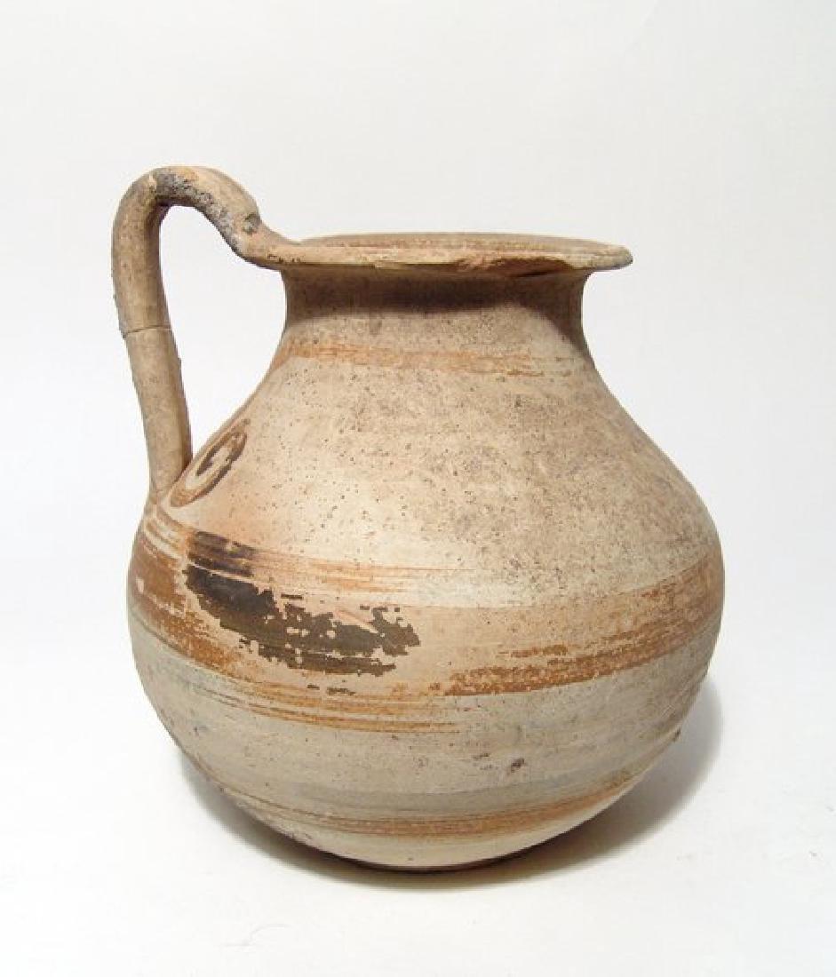 A nice Greek oinochoe, Magnia Graecia, c. 4th Century - 2