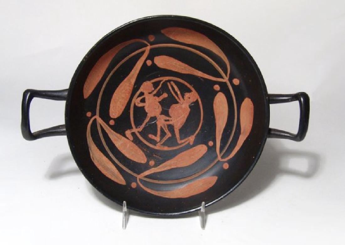 A nice Greek Xenon-ware kylix, Magnia Graecia