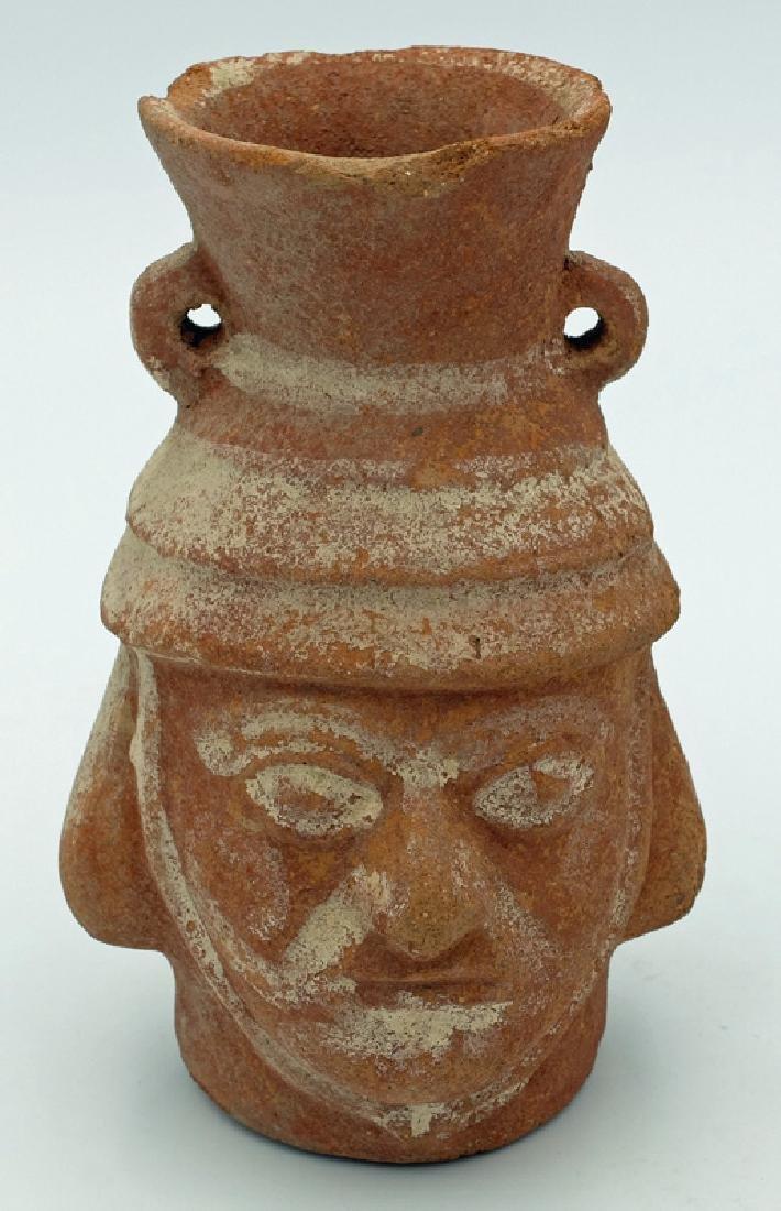 A fine Pre-Columbian portrait vessel