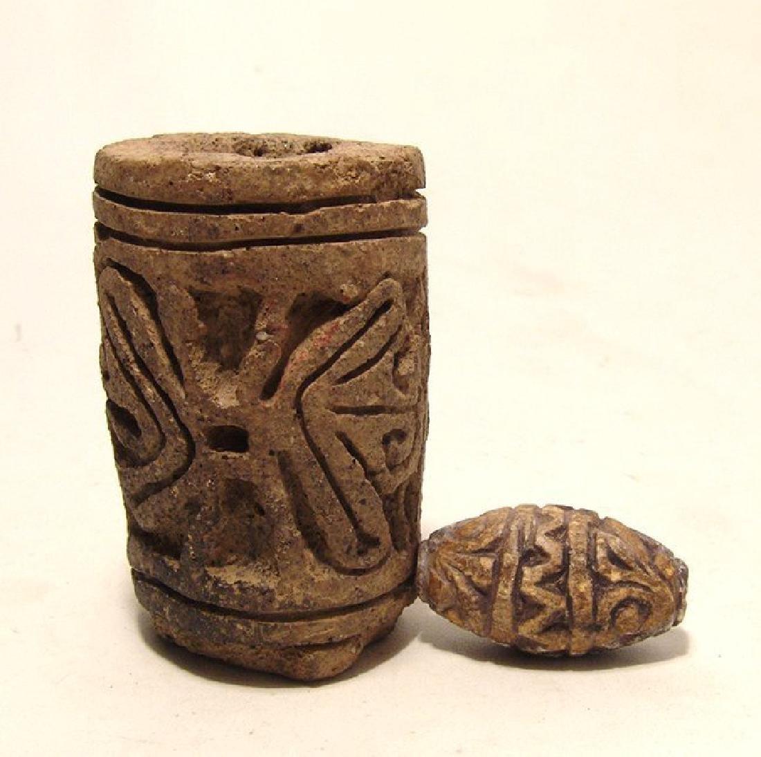 A pair of Ecuadorean rollers