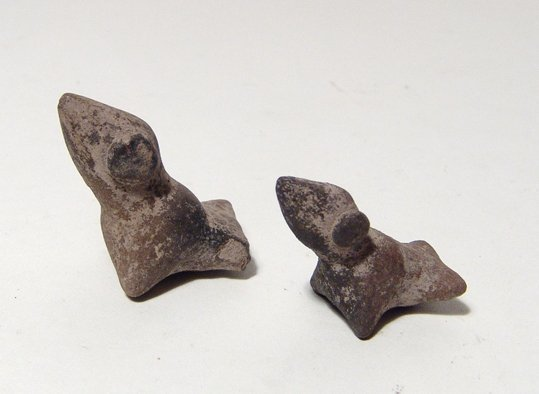 A lot of 4 Colima bird whistles, West Mexico - 4