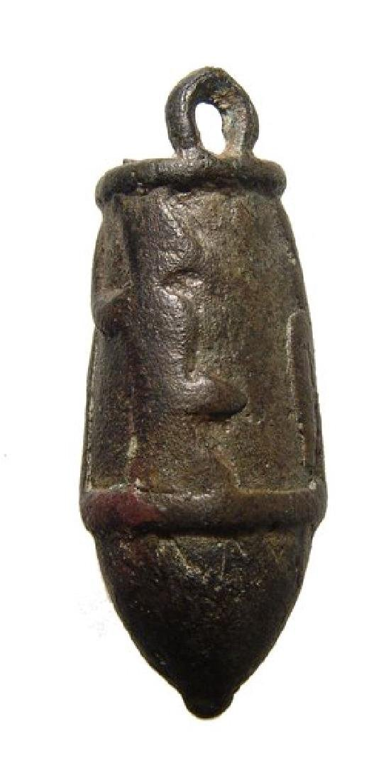 An Egyptian bronze votive situla, Late Period - 2