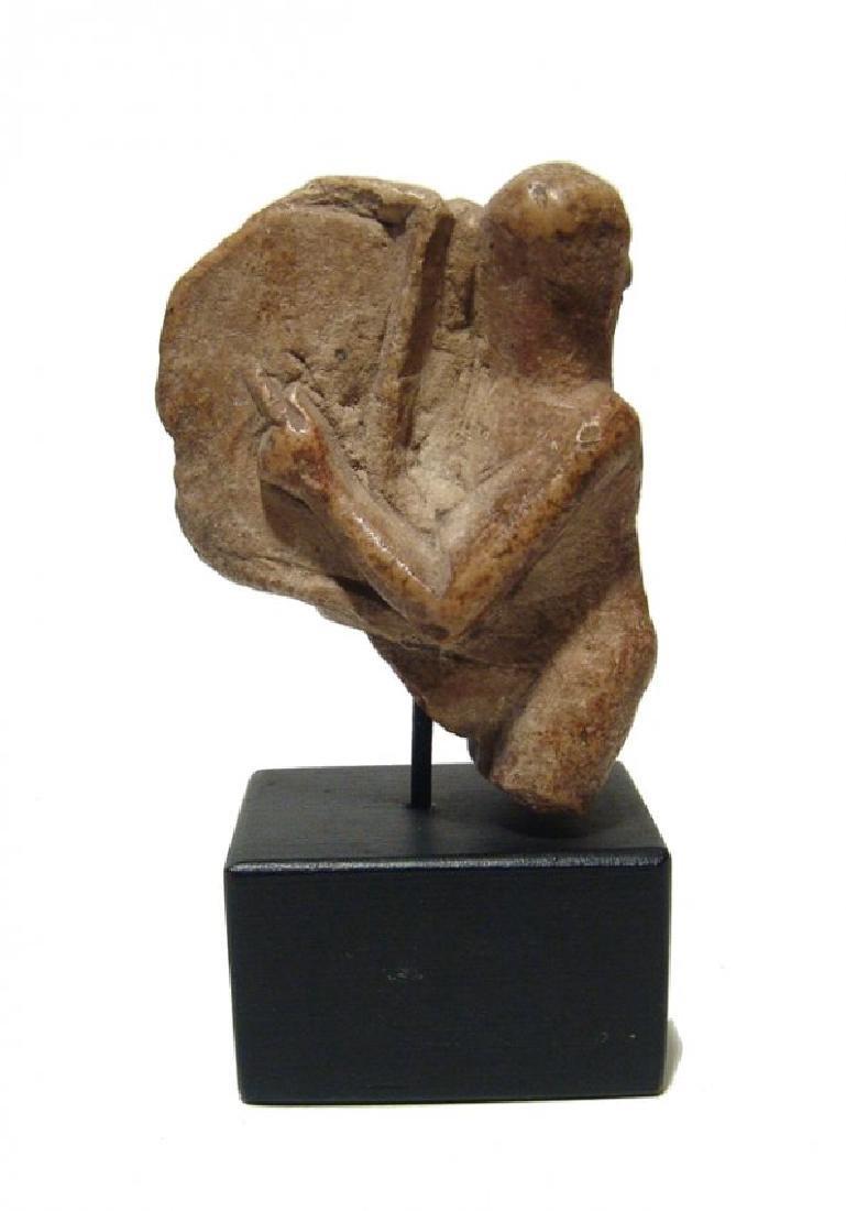 An Egyptian limestone ithyphallic Harpokrates - 3