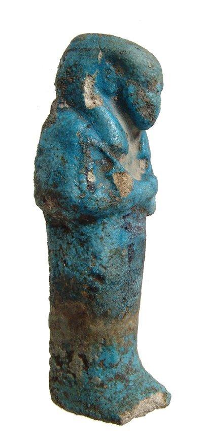 Egyptian bicolor 3rd Intermediate Period ushabti - 2