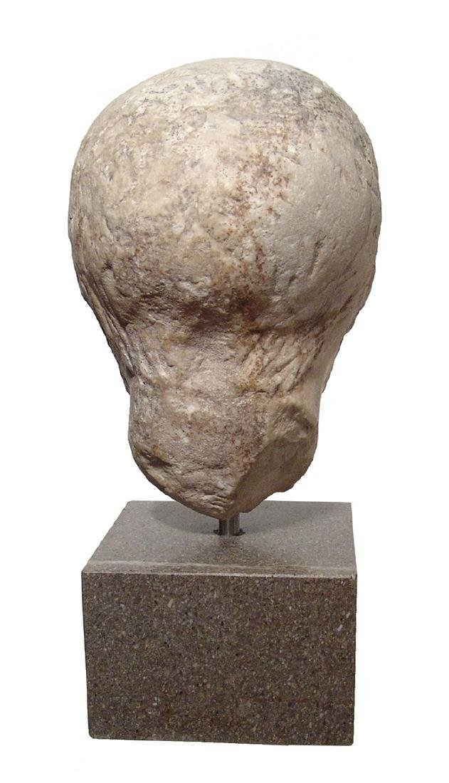 Pair of Roman Imperial portrait heads, Severan Dynasty - 7