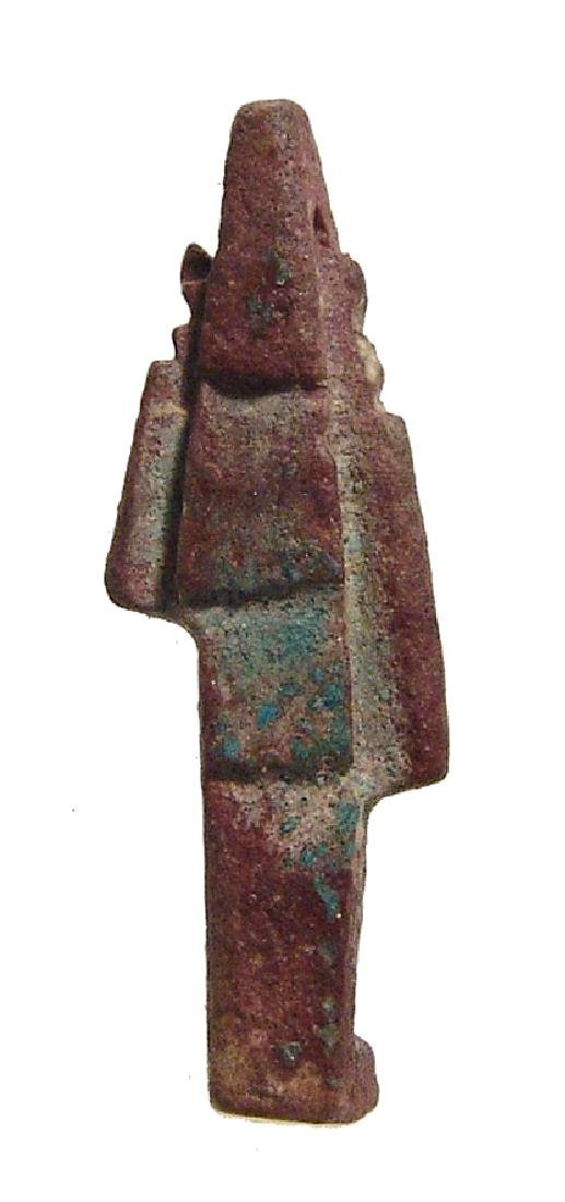 An Egyptian faience amulet of Sekhmet, Late Period - 3