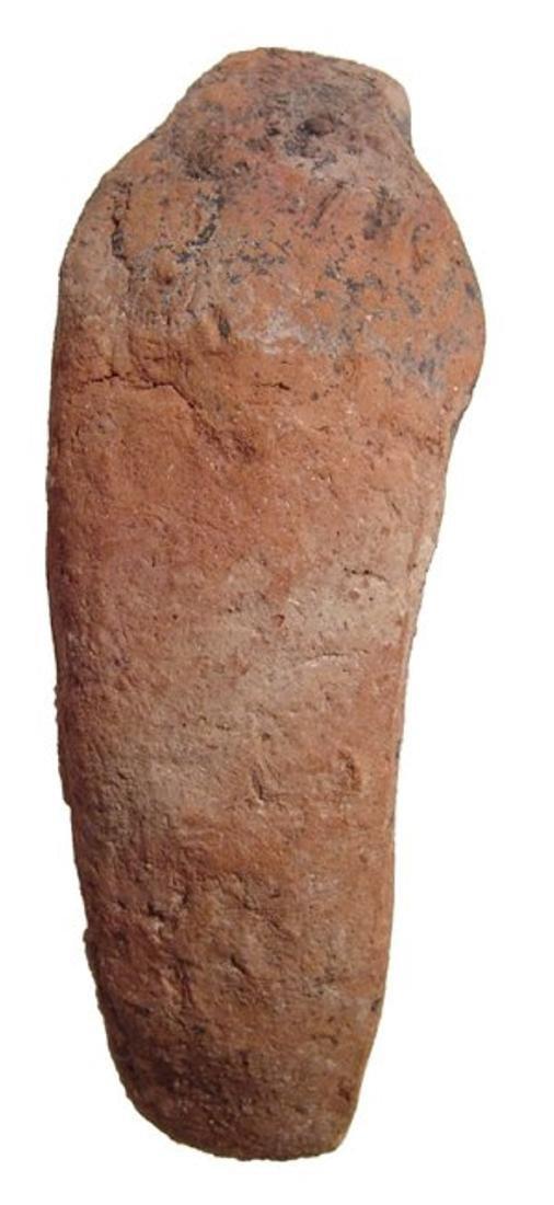 Egyptian terracotta ushabti with Hieratic inscription - 4