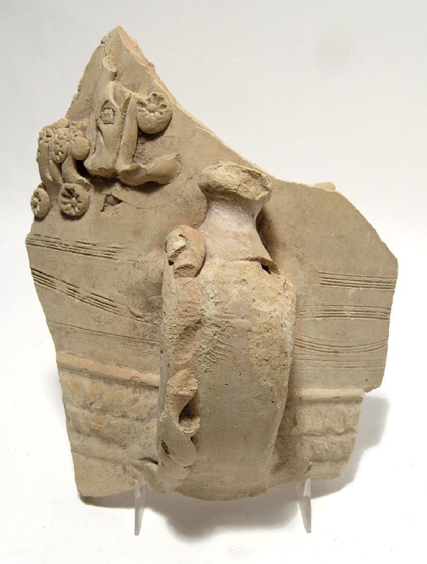 A large sherd of Romano-Egyptian buff ware