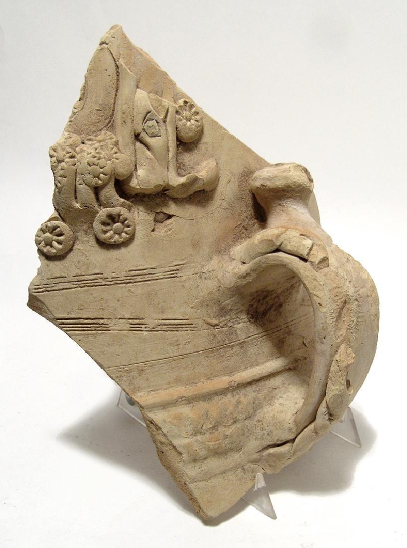 A large sherd of Romano-Egyptian buff ware - 2