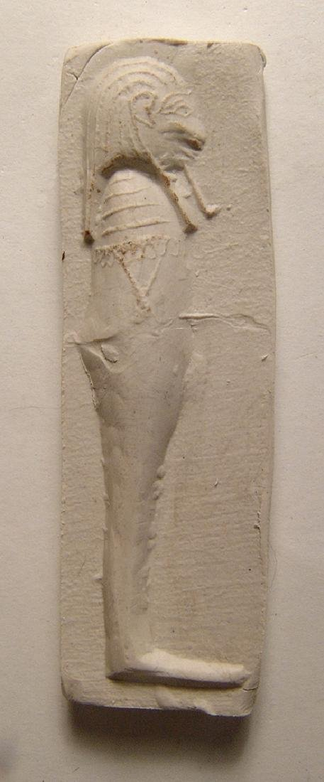 Egyptian limestone mold for a 'Sons of Horus' amulet - 3
