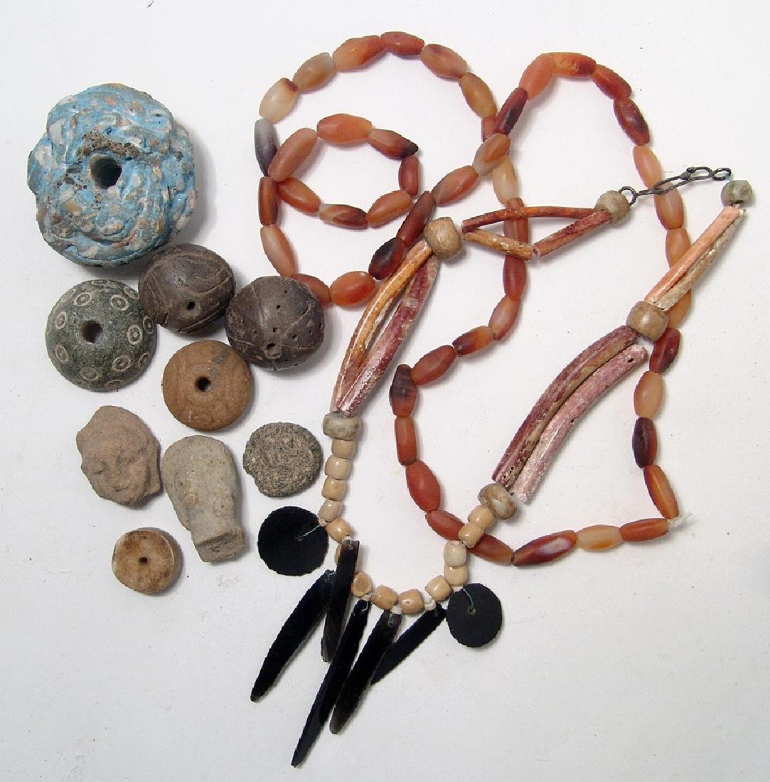 Assorted collection of various Pre-Columbian items