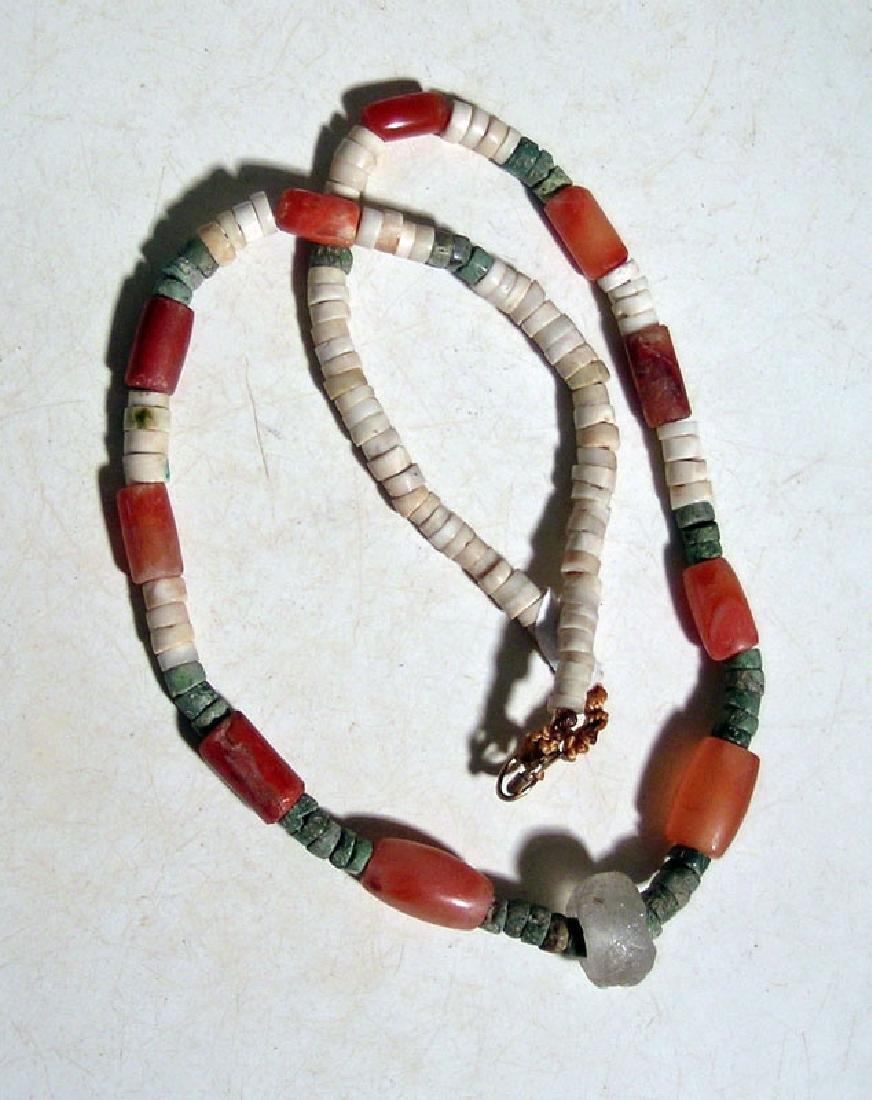 A fine Tairona necklace from Colombia