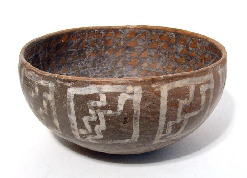 Large and well-preserved Pinedale bowl