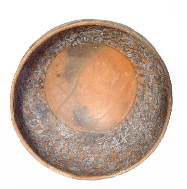 Large and well-preserved Pinedale bowl - 3