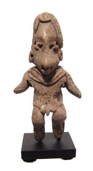 A nice Chupicuaro standing male figure, Mexico