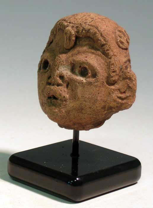 An excellent Olmec head fragment from Guatemala - 2