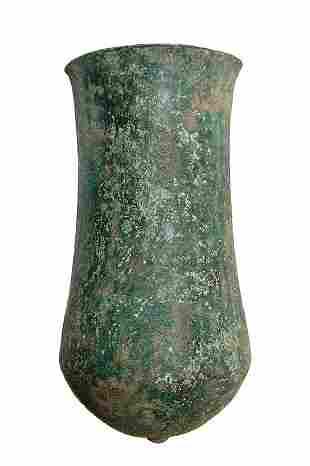 A handsome Near Eastern bronze situla