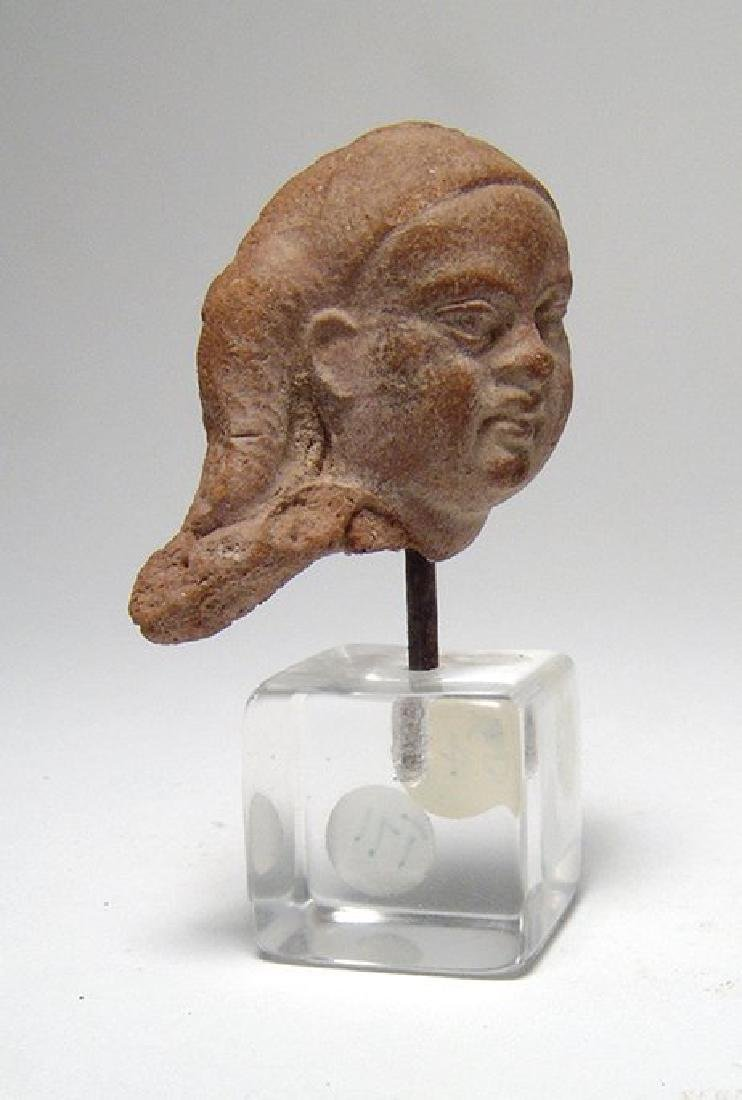An Egyptian Ptolemaic head of Harpokrates - 3