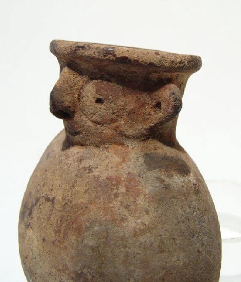 A Near Eastern terracotta figural jar - 2