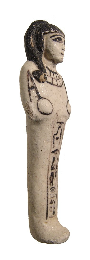 Egyptian New Kingdom Ramesside faience ushabti - 2