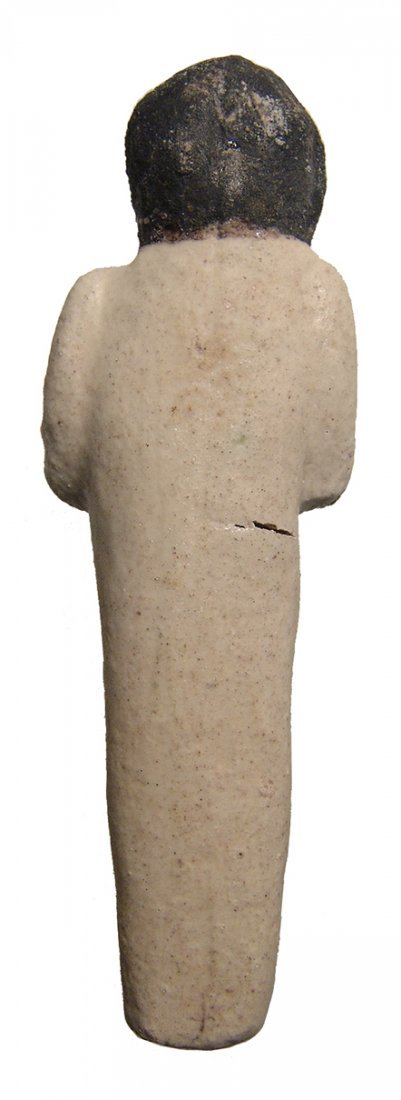 Egyptian New Kingdom Ramesside faience ushabti - 3