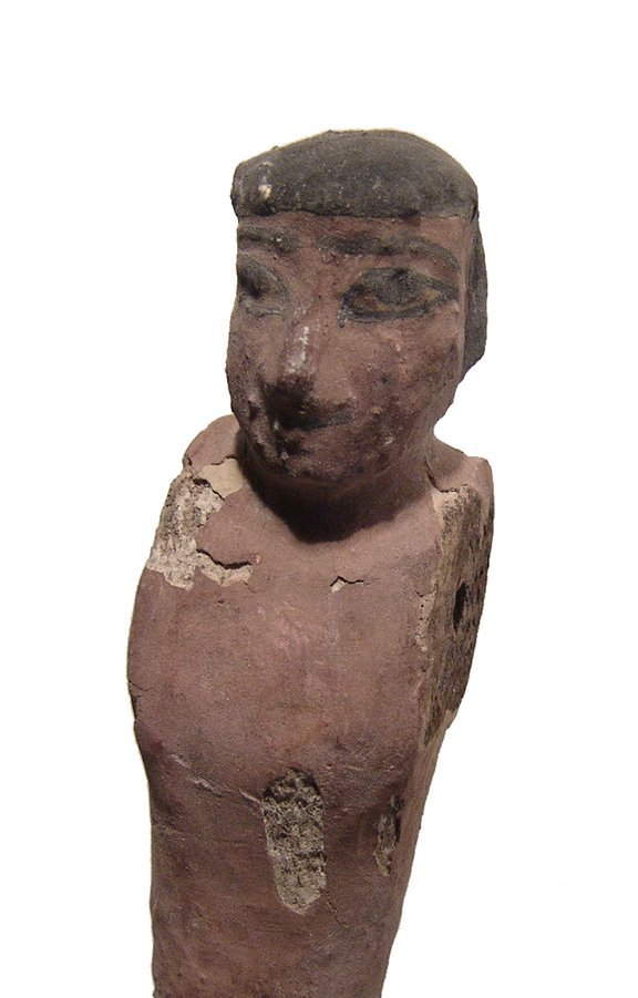 A nice Egyptian wooden figure, Middle Kingdom - 3