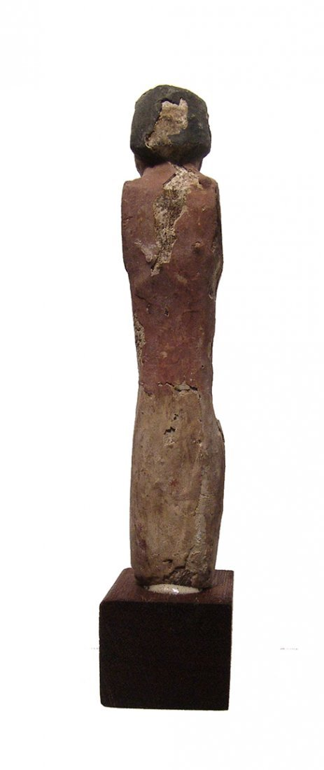 A nice Egyptian wooden figure, Middle Kingdom - 5