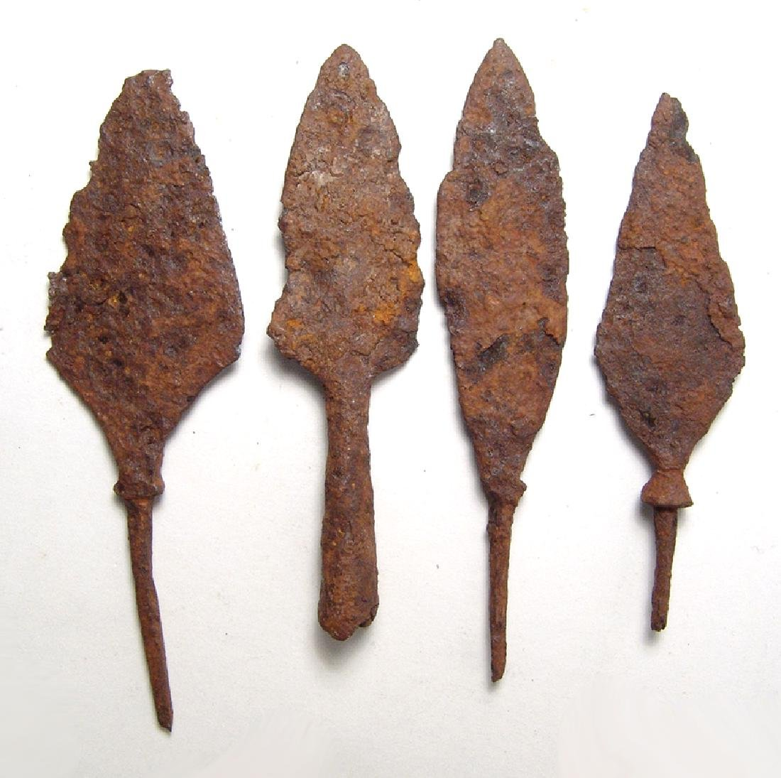 Chinese iron arrow and spear points, Liao to Qing