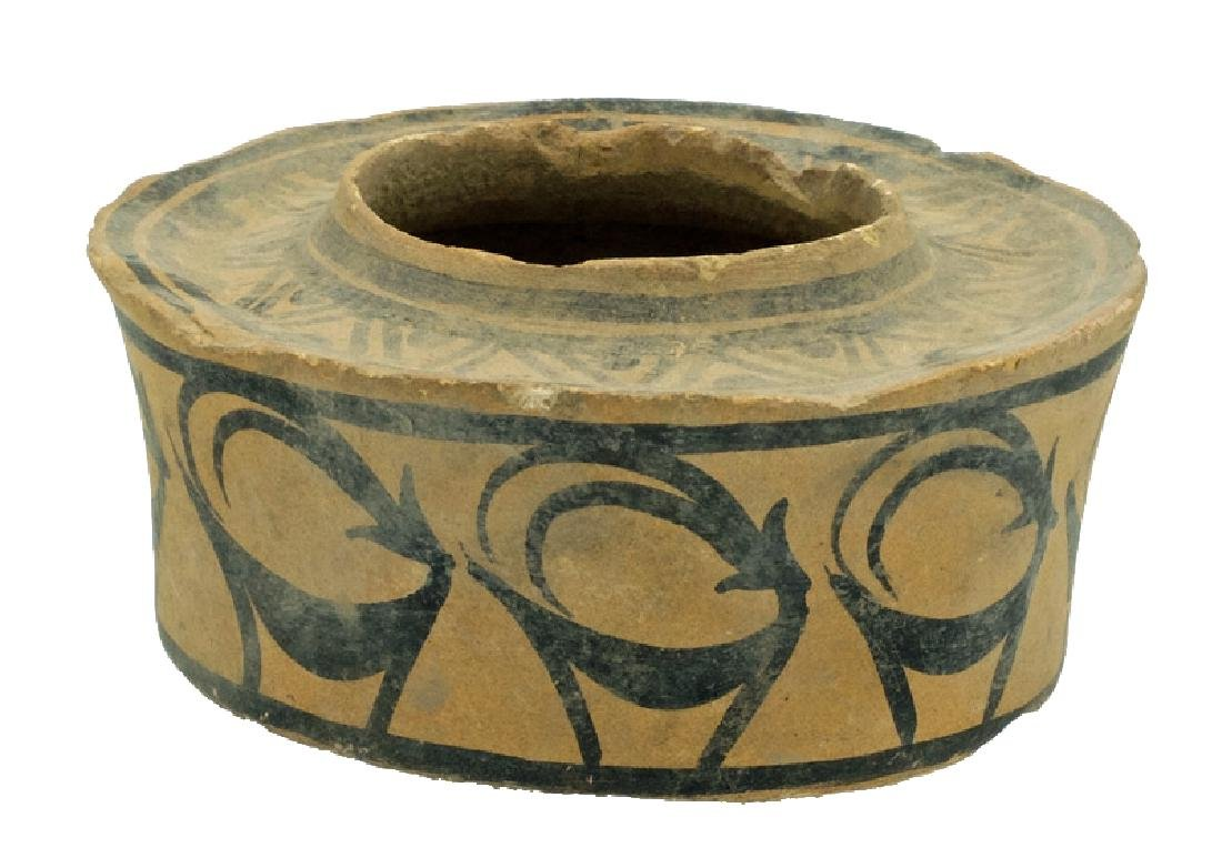A fine ceramic pyxis from the Indus Valley