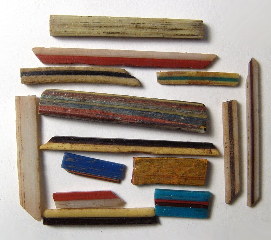 A lovely group of Hellenistic core glass rods