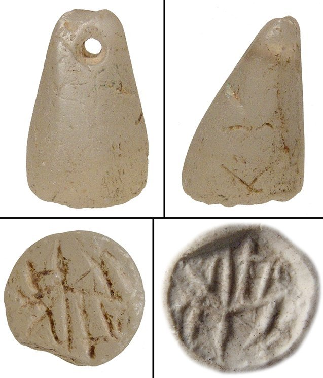 A calcite stamp seal, Anatolia
