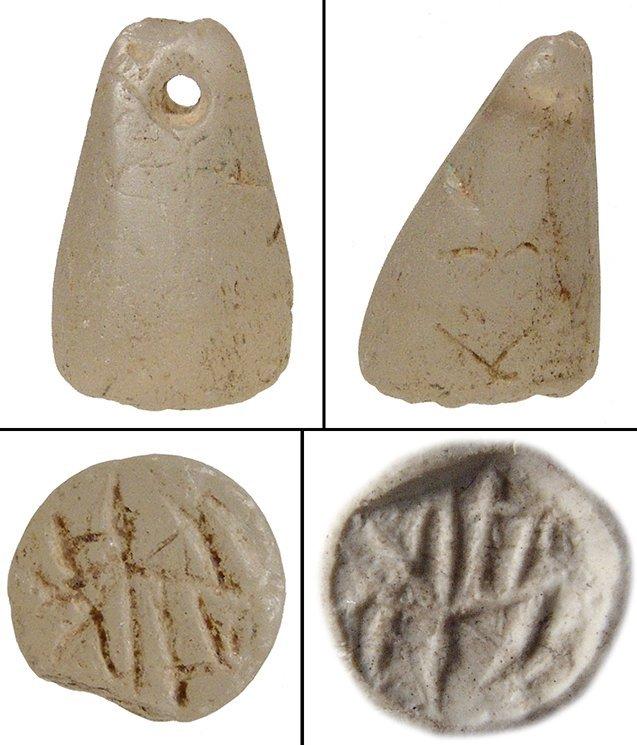 A calcite stamp seal, Anatolia
