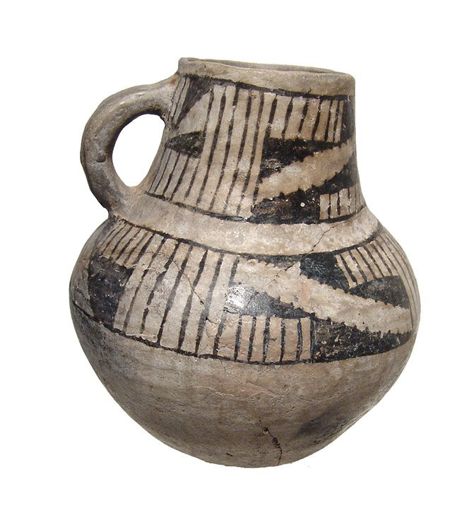 An Anasazi Mesa Verde ceramic pitcher