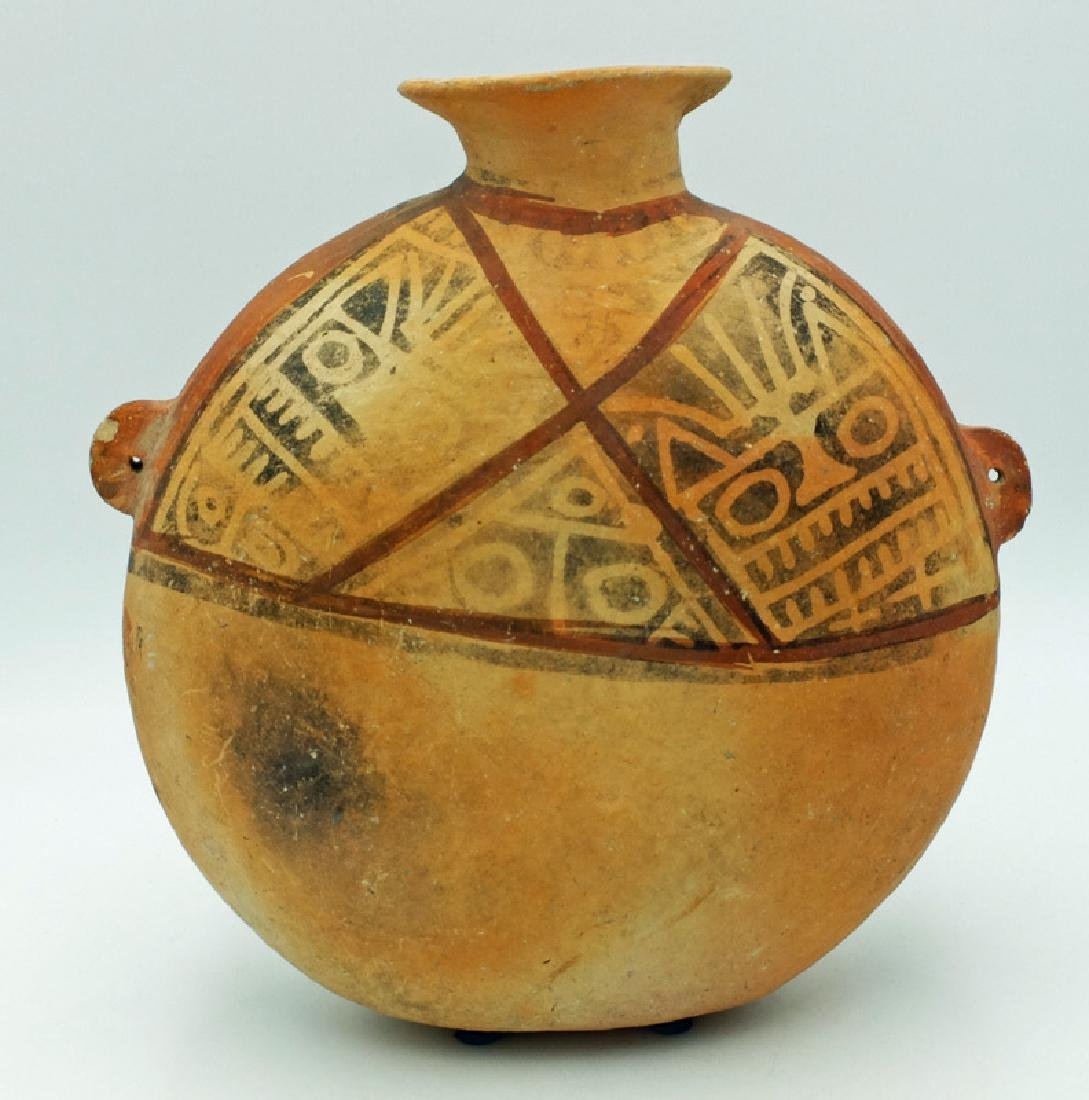 A large Pre-Columbian canteen