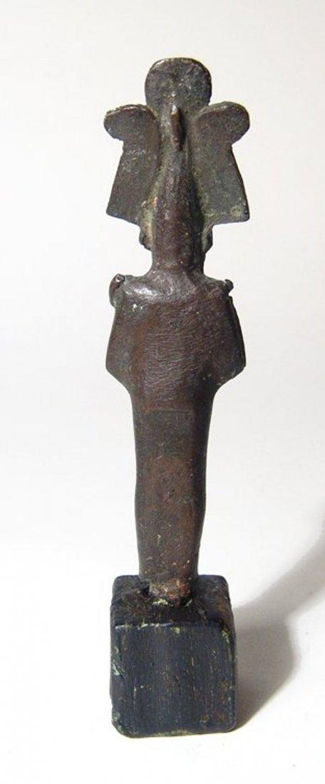 Egyptian bronze figure of Osiris, Late Period - 3