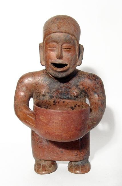 A wonderful Colima standing figure, West Mexico