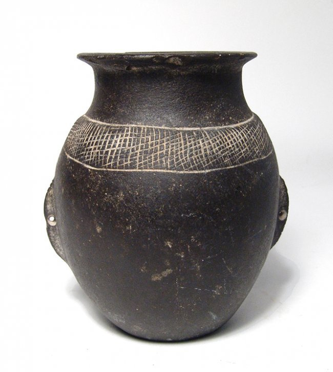 Nice Egyptian basalt jar, Predynastic – Early Dynastic