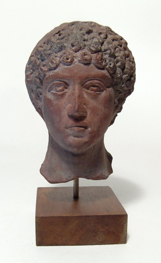 A stunning Romano-Etruscan head of youth