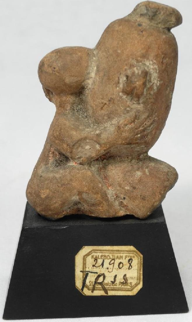 A fine Egyptian terracotta ithyphallic figure - 3