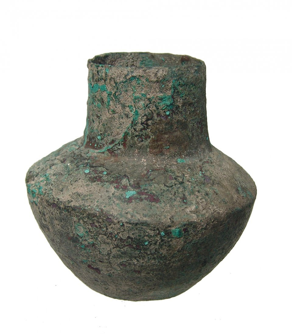 A Near Eastern bronze jar - 2
