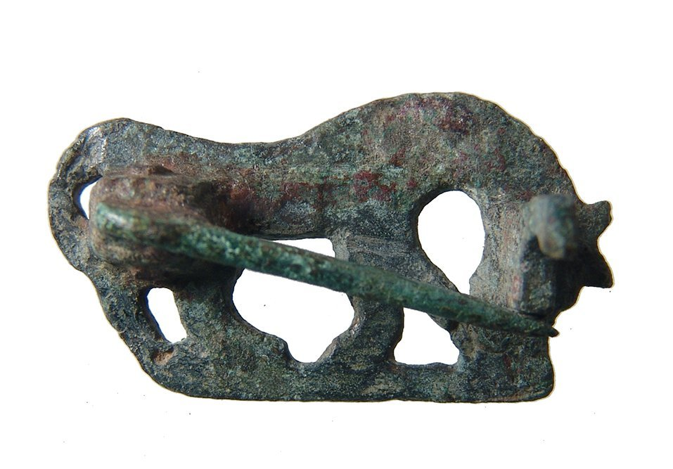 A nice Roman zoomorphic brooch in horse form - 2