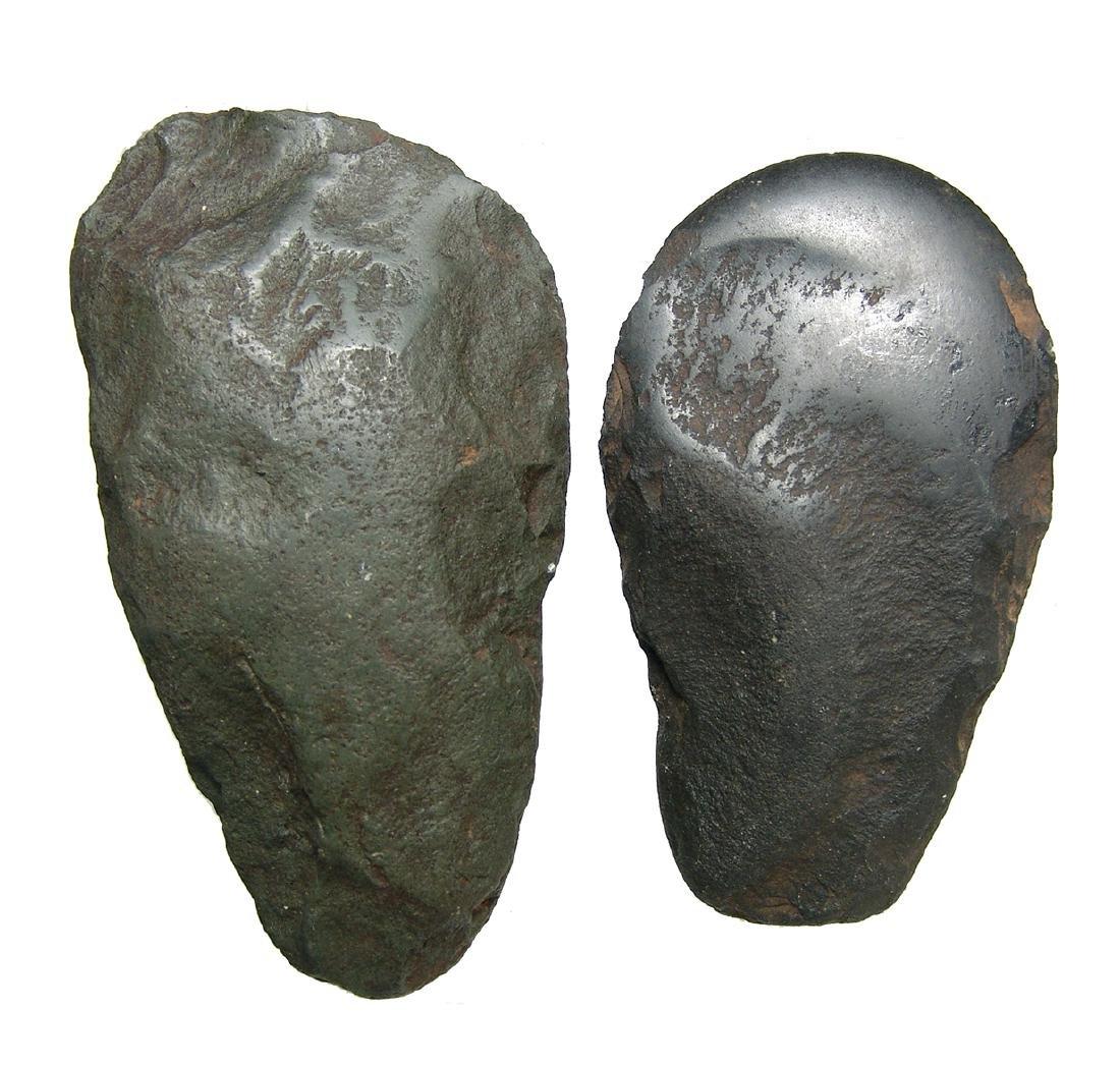 Pair of New Ireland stone axe heads, Papua New Guinea - 2