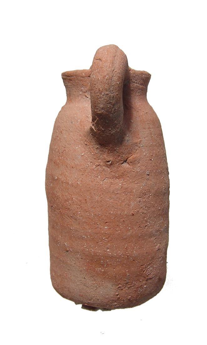 A nice Iron Age ceramic juglet - 2