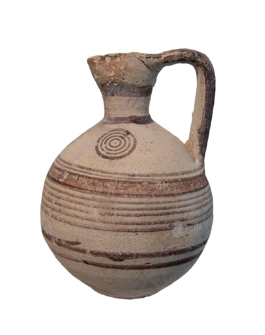 A nice Cypriot Bichrome pitcher
