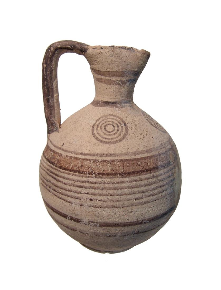 A nice Cypriot Bichrome pitcher - 2